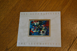 Stamps: Canada 1998 The Automatistes art stamps. Scott 1743-9
