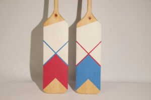 """His and Hers"" Canoe Paddles"