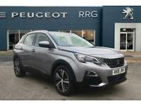 2019 Peugeot 3008 1.2 PureTech Active (s/s) 5dr Petrol grey Manual