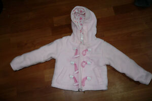 9 Month Pink Fleece Zippered Top