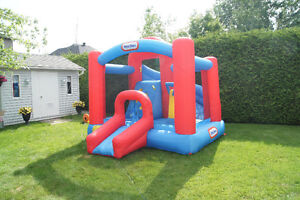 Little Tikes Inflatable 3-in-1 Play Center with Climbing Wall