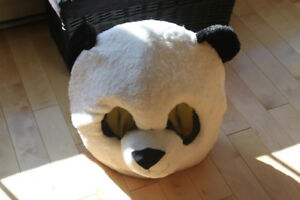 Halloween Costume  Giant Panda Head ( only worn once before).