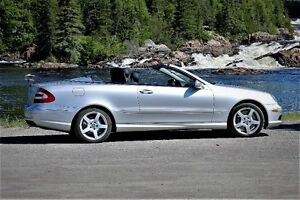 2005 Mercedes CLK 500 Convertible