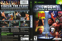 "XBOX ""Showdown : Legends Of Wrestling"" by Acclaim"