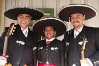 Authentic Mexican Mariachi bands - including a lovely señorita!