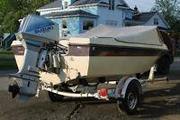 bateau moteur 75 hp