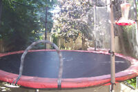 Trampoline for Sale. 12 Foot with safety Enclosure $95.