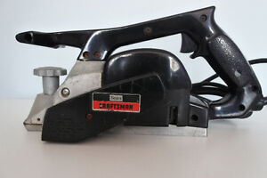 Sears Power Planer
