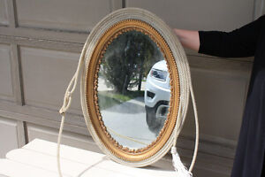 Western Country Style Mirrors - Lot of 2