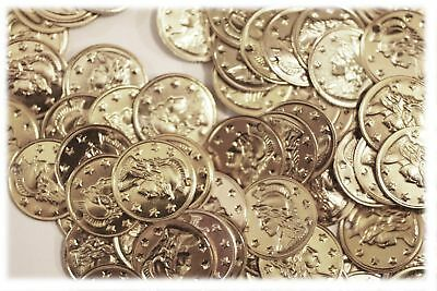 """Aluminum Jingle Coins Belly Dancing Jewelry Craft Costume 15mm ( 9/16"""" ) Silver"""