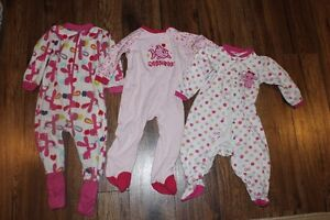 Girls 18 Month sleepers