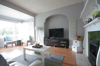 Beautiful 3 Bedroom Character Home by Commercial/Victoria Drive