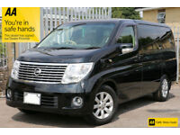 Nissan Elgrand XL TOP OF THE RANGE FRESH IMPORT RUST FREE IMMACULATE!! BARGAIN!!