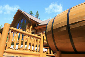Luxury Chalet to rent at St Sauveur Valley with spa and sauna