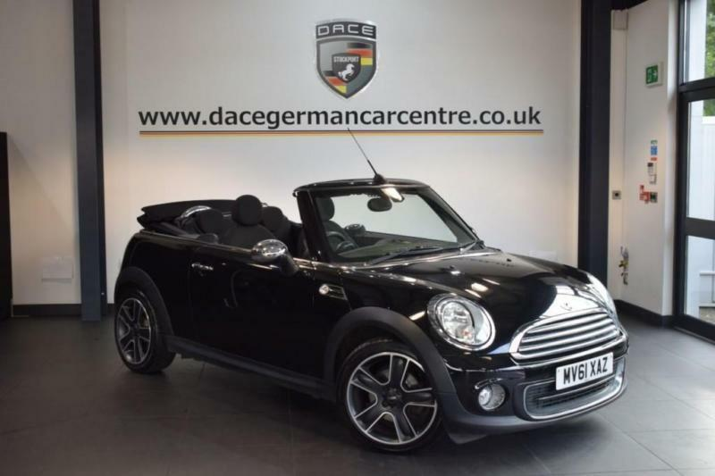 2012 61 MINI CONVERTIBLE 1.6 ONE 2DR PEPPER PACK 98 BHP