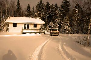 CHALET ACCES GRAND LAC ST-FRANCOIS