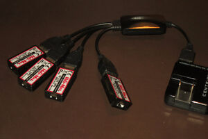 Heli-max USB chargers for 1SQ / 1SQ-Vcam quadcopter drone Gatineau Ottawa / Gatineau Area image 1