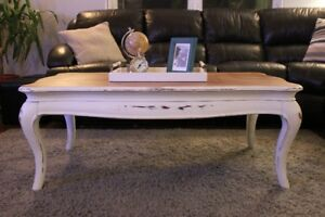For Sale! Solid Wood Coffee and Side Tables