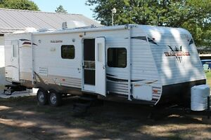 Newer Travel Trailers for Rent with Huge Slide-outs. Loaded!
