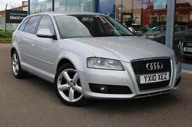 2010 AUDI A3 1.6 Technik SE 17andquot; ALLOYS, B TOOTH and BOSE