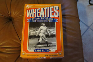 Full Box Wheaties Sports Heritage Collectors Edition - Babe Ruth