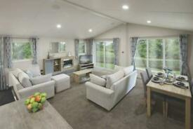 2 bed Double Lodge with Decking and Pitch Fees - Call James on 07495668377