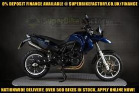 2010 10 BMW F650 GS 800CC 0% DEPOSIT FINANCE AVAILABLE