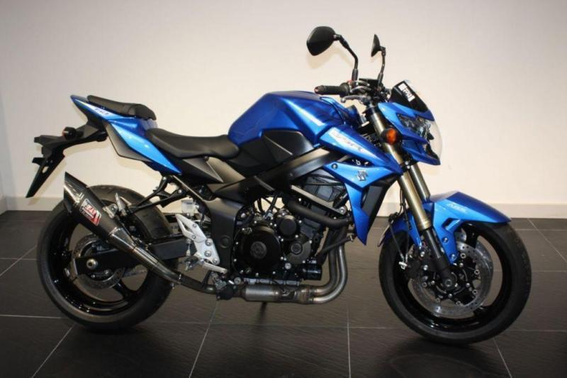 2016 suzuki gsr 750 blue yoshimura low mileage ex demo poa in brighton east sussex gumtree. Black Bedroom Furniture Sets. Home Design Ideas