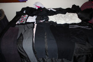 a lot of womans clothing etc