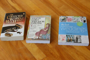 Books - Wedding, Pregnancy, Death