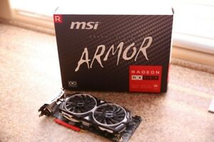MSI RX580 RX570 GPU Carte Graphique Gaming