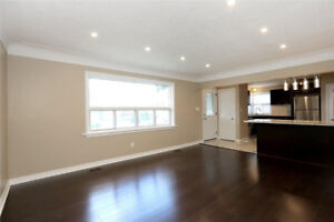***Newly Renovated Main Floor 3 Bedroom Unit For Rent****