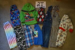 Boys winter clothes size 2T