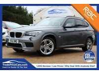 2012 12 BMW X1 2.0 XDRIVE20D M SPORT 5D AUTO 174 BHP DIESEL