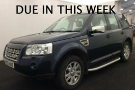 2007 LAND ROVER FREELANDER 2 XS 2.2 Td4 TURBO DIESEL 4X4