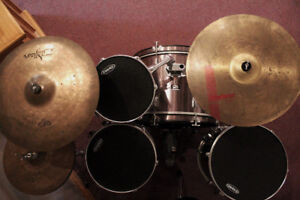 CB Drum Kit (SP Series) w/ Sabian, Meinl, & Zildjian Cymbals