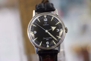 **VINTAGE** Omega Seamaster 600 Afghan Military Men's Watch