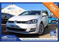 2014 64 VOLKSWAGEN GOLF 2.0 GT TDI BLUEMOTION TECHNOLOGY DSG 5D AUTO 148 BHP DIE