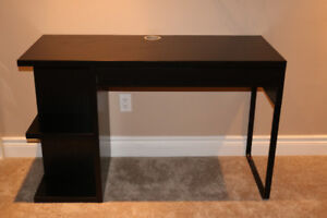 IKEA MICKE Adjustable Desk w/Integrated Storage & Cable Hideaway