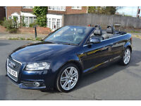 Audi A3 Cabriolet 2.0TFSI 2009 S Line 46,000 miles Full History