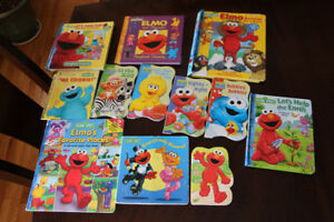 Set of 12 Sesame Street Toddler Books In Great Shape