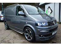 2015 15 VW T5 Transporter 2.0TDI 160PS SWB T28 Highline Sportline Pack Grey