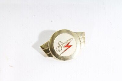 Simson Emblem Lenkerschale gold Logo Schwalbe KR51 Star Sperber Habicht Wappen gebraucht kaufen  Dohma