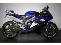 2008 58 YAMAHA YZF R6 14S BLUE! CBR GSXR 600 DAYTONA TT BRITISH SUPERSPORT