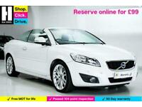 2011 Volvo C70 2.0 D4 SE Lux Geartronic 2dr Convertible Diesel Automatic