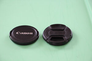 Canon Lens Covers - 58mm - in excellent condition.