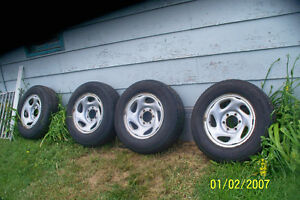 4 = 16 INCH RIMS 6 BOLT HOLDS TIRES HOLD AIR,ONLY FOR SPARES
