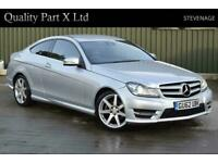 2012 Mercedes-Benz C Class 1.6 C180 BlueEFFICIENCY AMG Sport Sport Coupe 7G-Tron