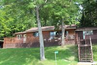 Boat access cottage for sale on mazinaw lake.