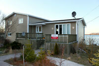 6 Bedroom oceanfront home close to Bull Arm and Long Harbour!